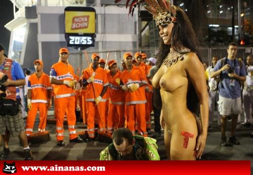 viviane nua no carnaval do rio de janeiro