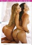 Gabriela Paganini e Andressa Ferreira na Sexy