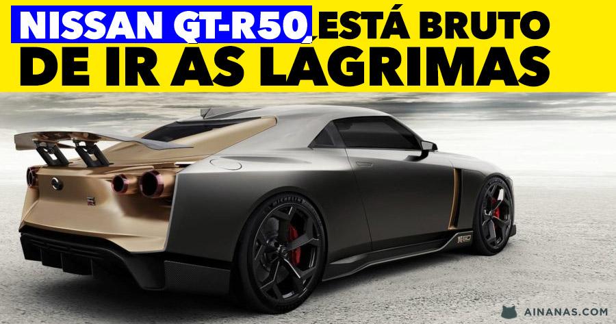 NISSAN GT-R50 está uma máquina de ir às lágrimas!
