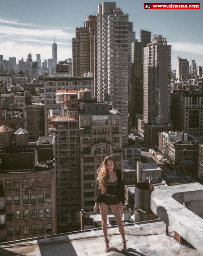 Mulheres lindas nos telhados - ainanas.com