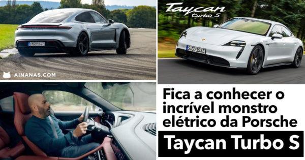 Chris Harris diverte-se com Porsche Taycan Turbo S