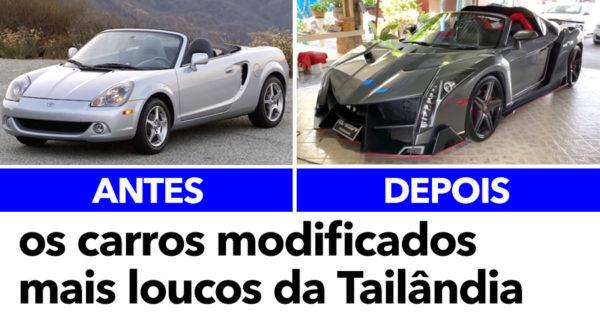Os carros modificados MAIS LOUCOS da Tailândia