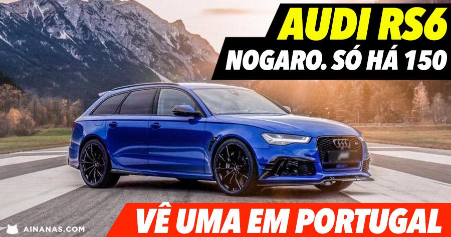 Incrível ( e bem rara ) AUDI RS6 em Portugal