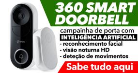 360 SMART DOORBELL: campainha inteligente