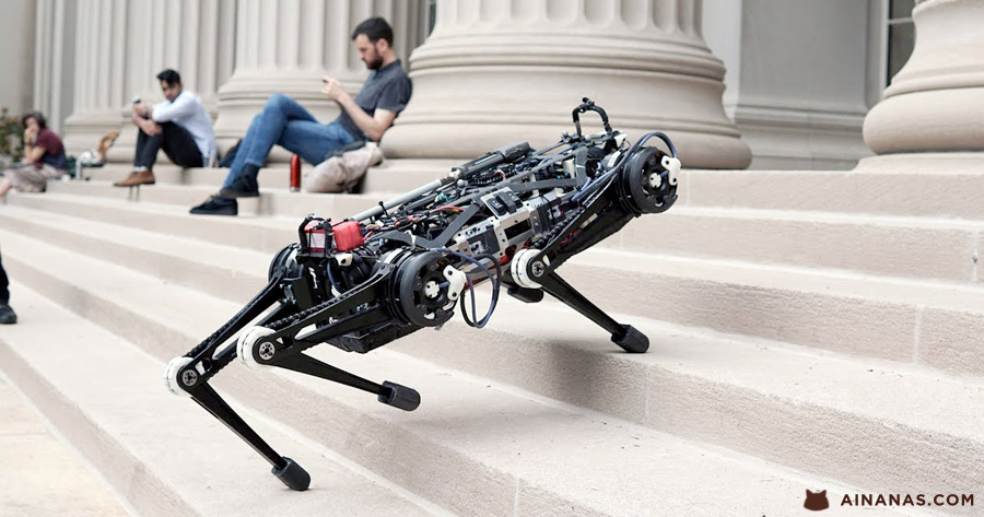 Vê só o que o CHEETAH 3 do MIT já consegue fazer !