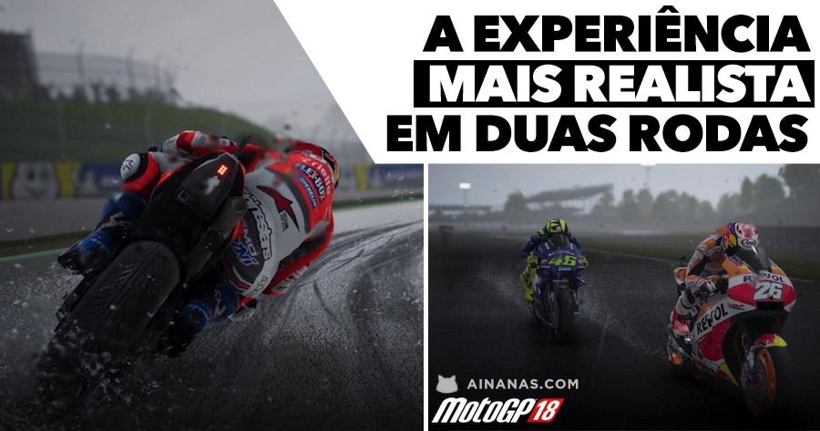 MotoGP 18 oferece a experiência mais realista em duas rodas