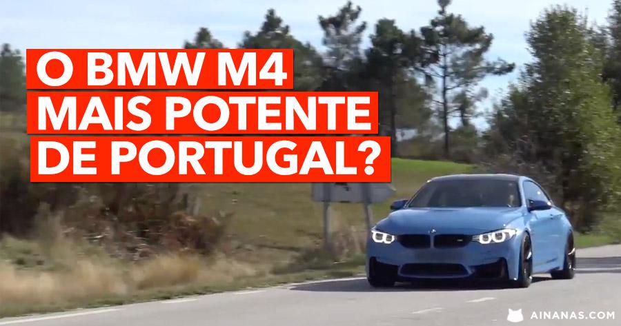 O BMW M4 Mais POTENTE de Portugal ?