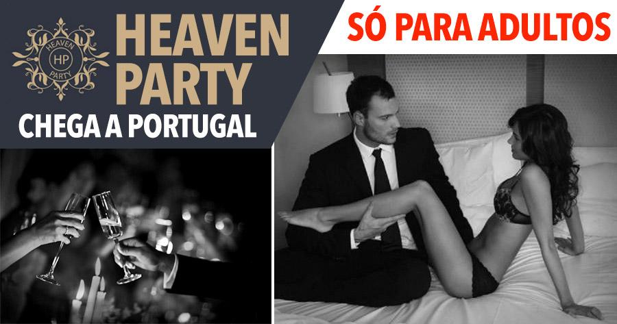 HEAVEN PARTY: vem aí festa SÓ PARA ADULTOS em Portugal