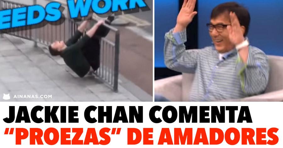 """LENDA: Jackie Chan comenta videos de """"duplos"""" amadores"""