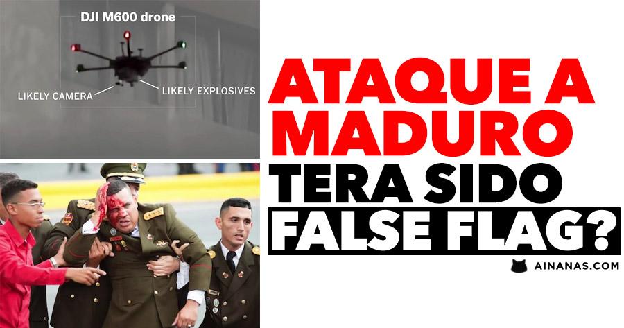 Terá o ataque a Maduro sido FALSE FLAG?