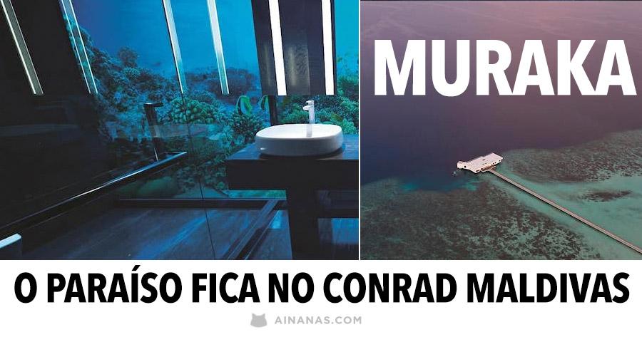 MURAKA: o paraíso fica no Conrad Maldivas