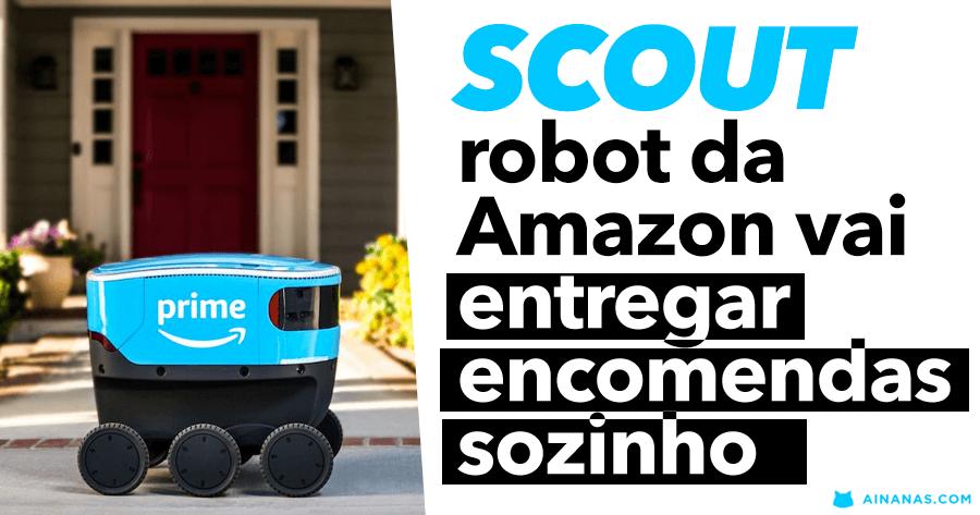 SCOUT: robot da Amazon vai entregar encomendas sozinho