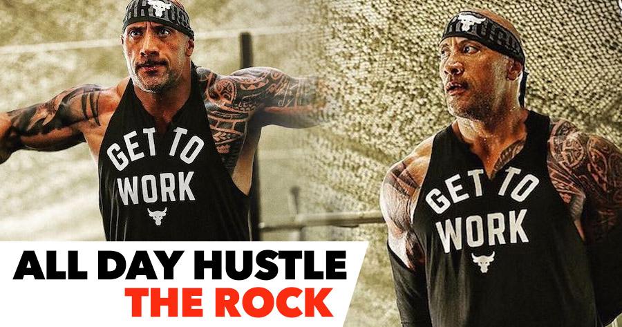 Dwayne Johnson: All Day Hustle. Project Rock
