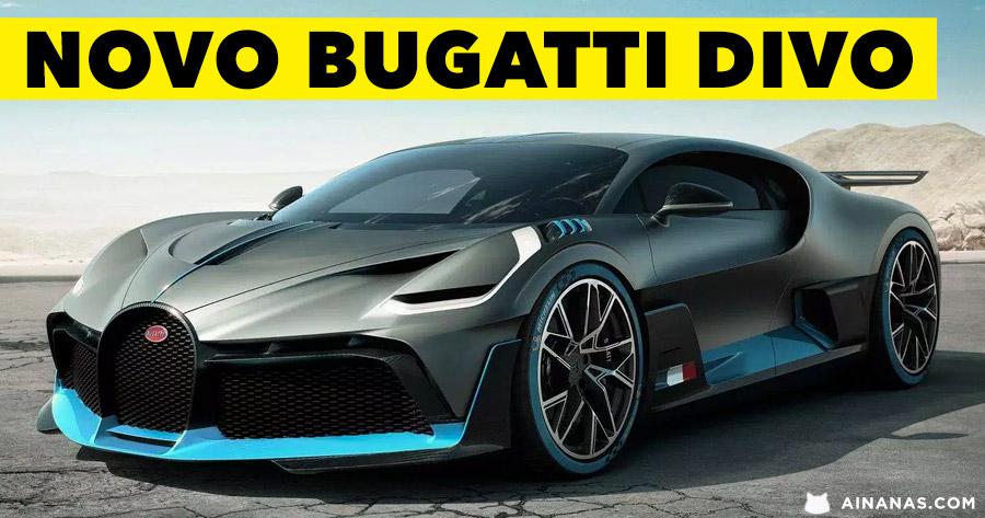 DEPOIS DO CHIRON: passa-te com o Bugatti Divo