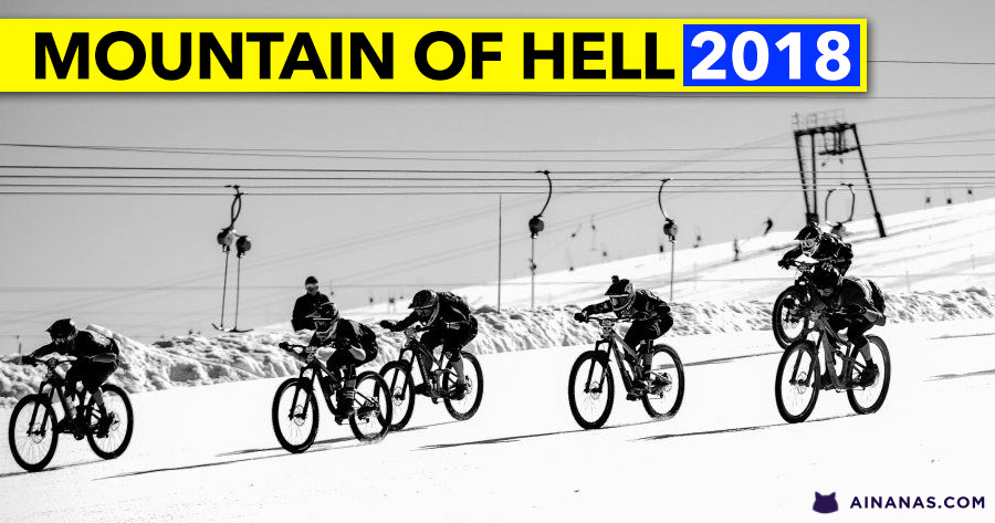 MOUNTAIN OF HELL 2018: incrível video de prova completa