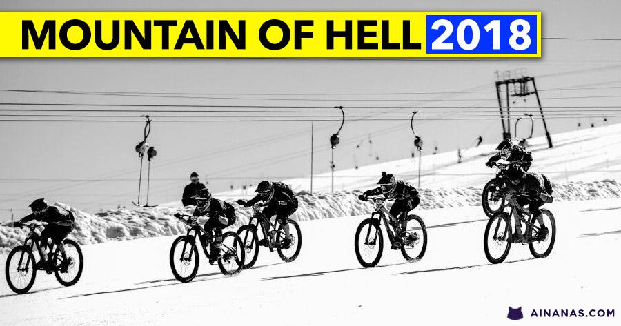 MOUNTAIN OF HELL 2018: incrível video de prova completa