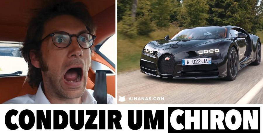 Como é REALMENTE conduzir um Bugatti Chiron?