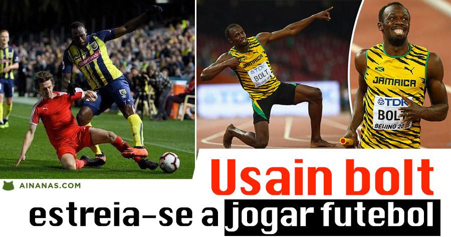 USAIN BOLT: o homem mais rápido do planeta agora quer conquistar o futebol