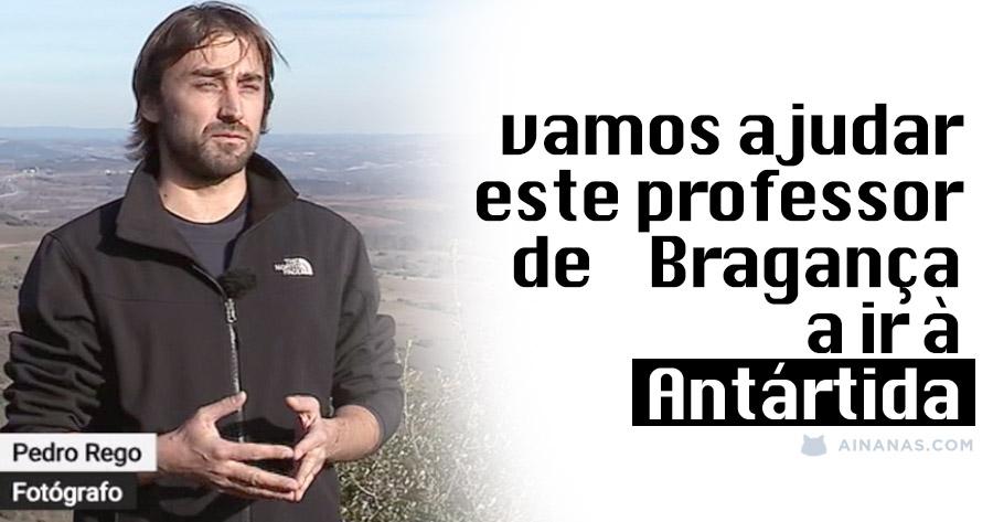 Vamos ajudar: Português na reta final para ganhar expedição à ANTÁRTIDA