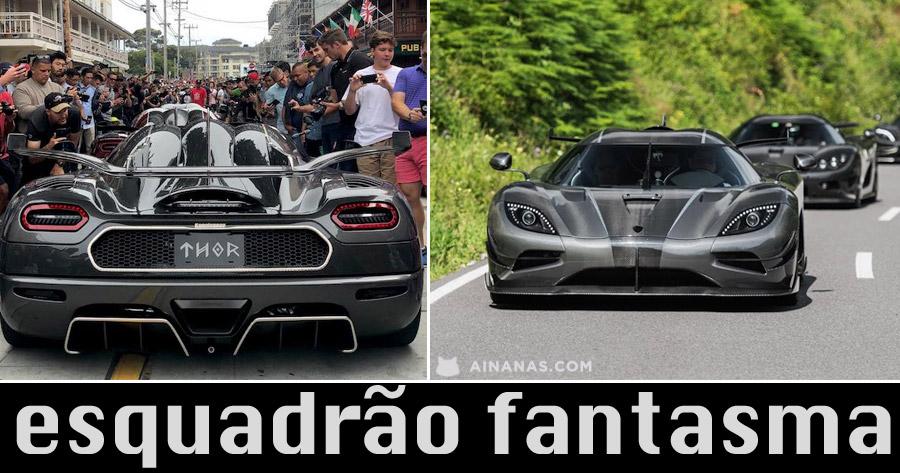 ESQUADRÃO FANTASMA: o mais exclusivo Clube de Bilionários ao volante
