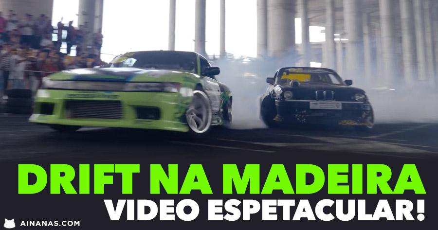 SEM TRAÇÃO: Espetacular video de Drift na Madeira