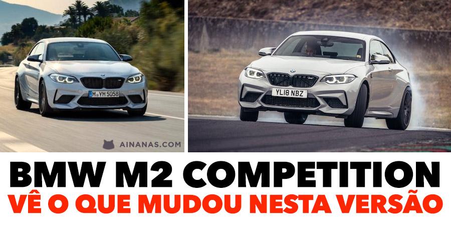BMW M2 Competition: vê o que mudou nesta versão
