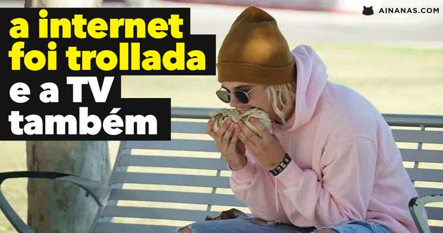 A Internet foi Trollada com Justin Bieber e um Burrito
