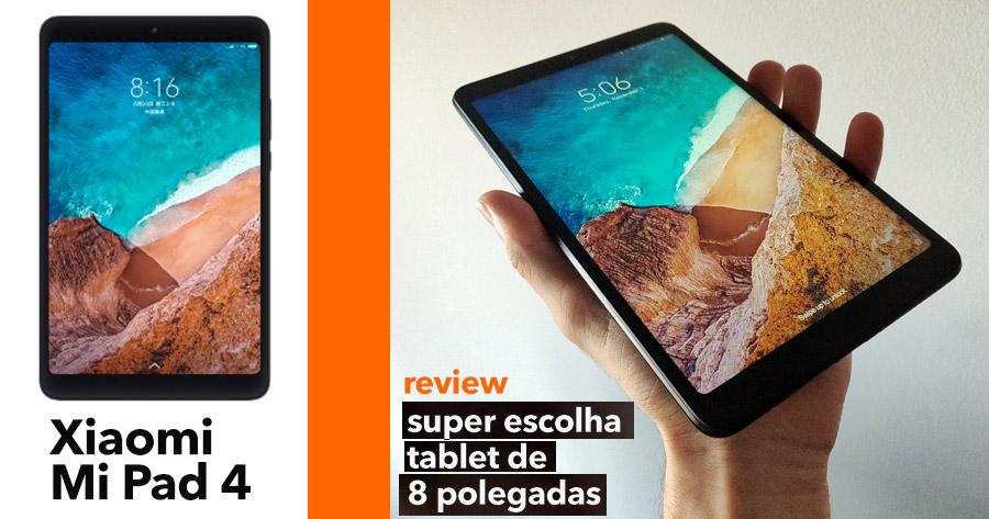 Xiaomi Mi Pad 4: o nosso tablet de 8″ de eleição