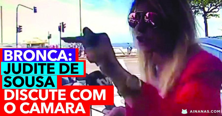 BRONCA: Judite de Sousa filmada a discutir com o Câmara