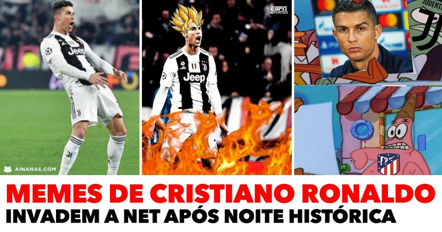 MEMES de Ronaldo invadem a Internet após noite histórica