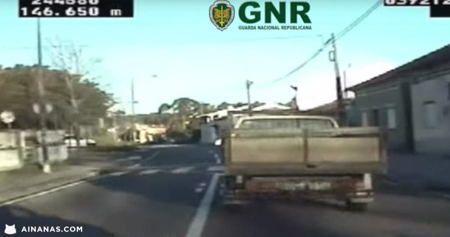 GNR revela video com piores transgressões dos portugueses