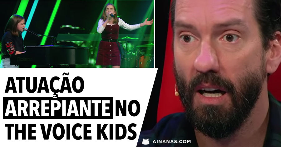 Irmãs ARREPIAM O JURI do The Voice Kids com performance incrível de CREEP dos Radiohead