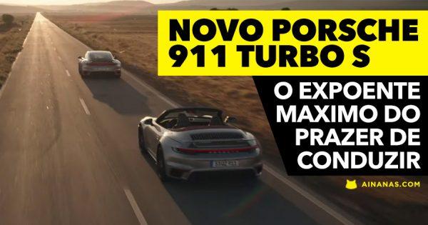 NOVO PORSCHE 911 Turbo S