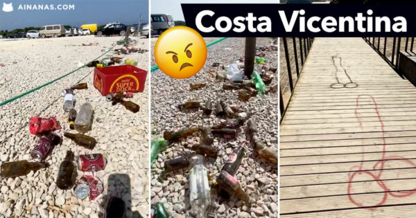 😡 VERGONHA: Lixo e Vandalismo na Costa Vicentina