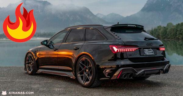 A Audi RS6 MAIS EXCLUSIVA de Sempre