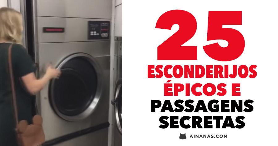 25 ESCONDERIJOS épicos e passagens secretas