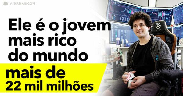 Sam Bankman-Fried é o JOVEM MAIS RICO do Mundo