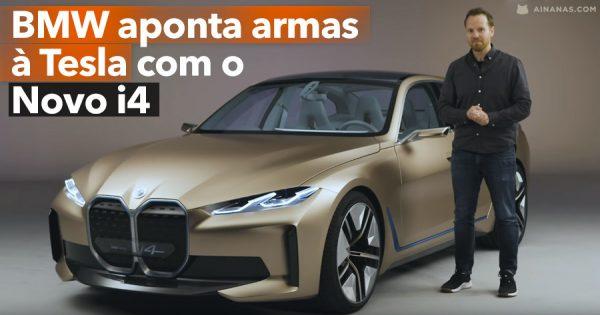 BMW aponta armas à TESLA com o novo Elétrico i4
