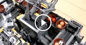 A Maior Engenhoca de LEGO do Mundo