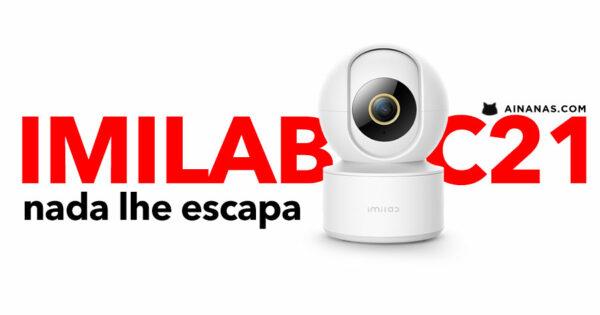 IMILAB C21: videovigilância com tecnologia avançada