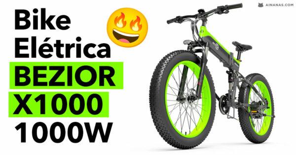 DAMN!! Esta bike BEZIOR X1000 1000W está poderosa