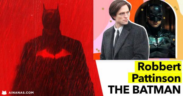 ROBBERT PATTINSON é THE BATMAN. Vê o Trailer!