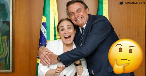 REGINA DUARTE: secretária da cultura de Bolsonaro dá entrevista Bizarra