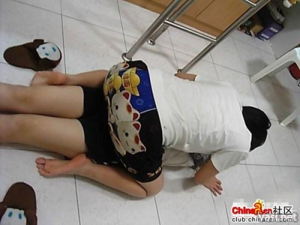 Meninas Chinesas São umas Grandes Malucas