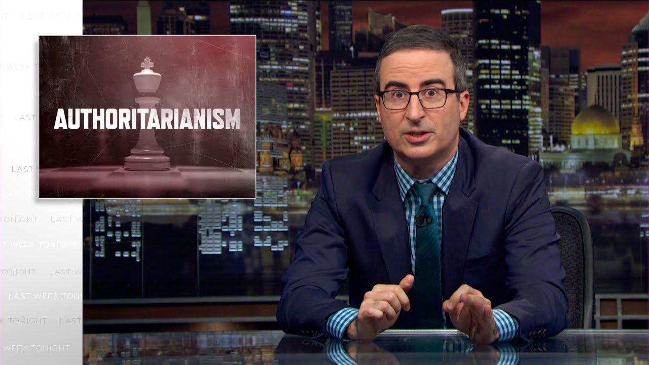 AUTORITARISMO: John Oliver usa último programa da temporada para abordar tema preocupante