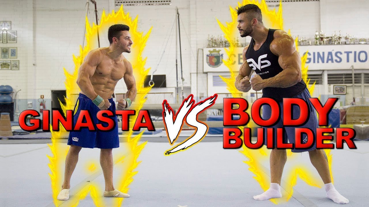 GINASTA OLÍMPICO vs BODY BUILDER