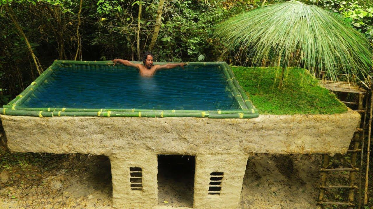 A mais rústica piscina de Luxo que já viste !