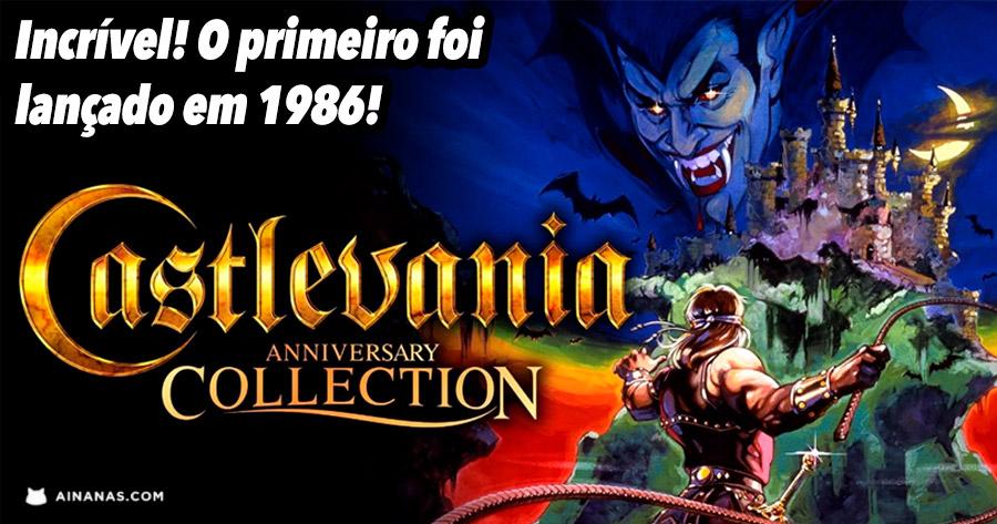 Castlevania Anniversary Collection já está disponível!
