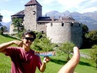 AINANAS INTERNATIONAL no Castelo do LIECHTENSTEIN
