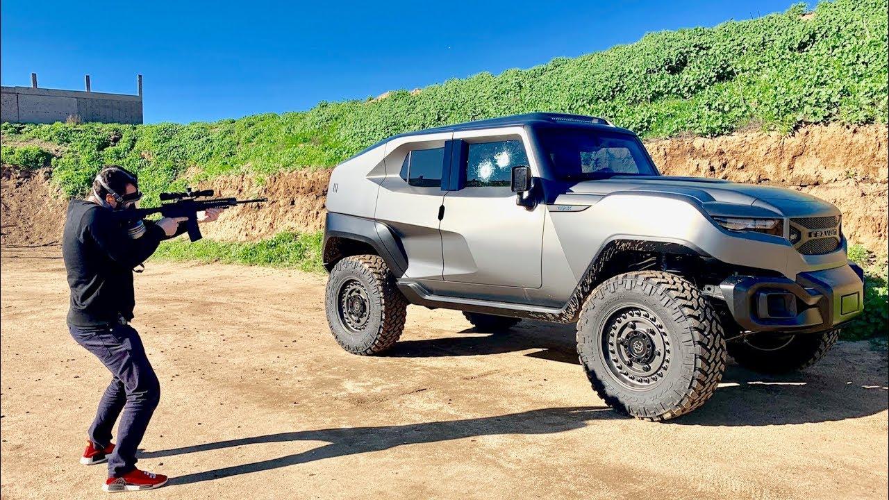 Será este SUV de 300 mil dólares realmente blindado?